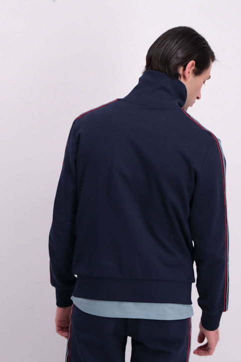 Cyclo Club Marcel Sweaters (gilet) blauw CCM GIL TRACK SUIT_NAVY BLUE img3