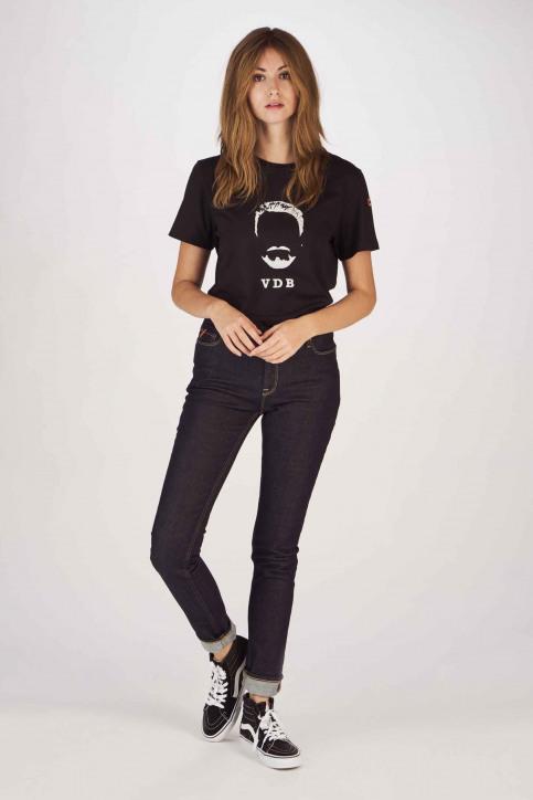 Cyclo Club Marcel T-shirts (korte mouwen) zwart CCM191WT 002_BLACK img2