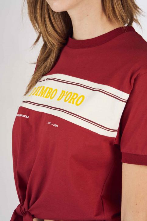 Cyclo Club Marcel T-shirts (korte mouwen) bordeaux CCM191WT 004_BORDEAUX img4