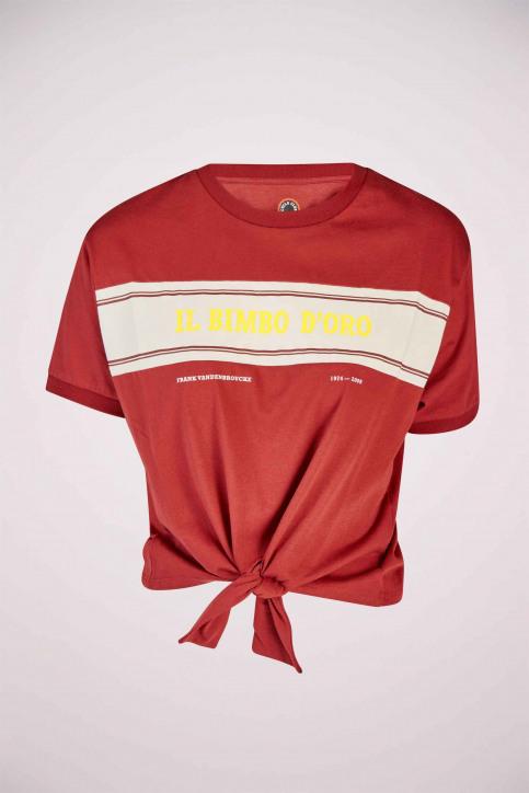 Cyclo Club Marcel T-shirts (korte mouwen) bordeaux CCM191WT 004_BORDEAUX img6