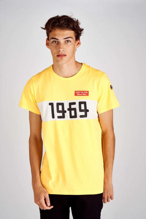 Cyclo Club Marcel T-shirts (korte mouwen) geel CCM192MT 006_BRIGHT YELLOW img1