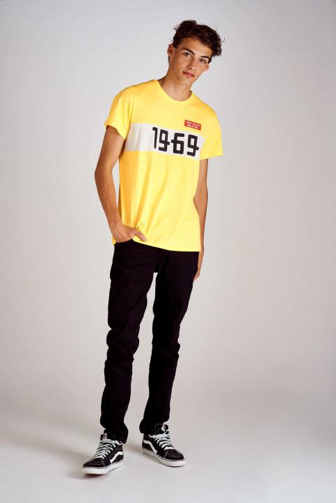 Cyclo Club Marcel T-shirts (korte mouwen) geel CCM192MT 006_BRIGHT YELLOW img2