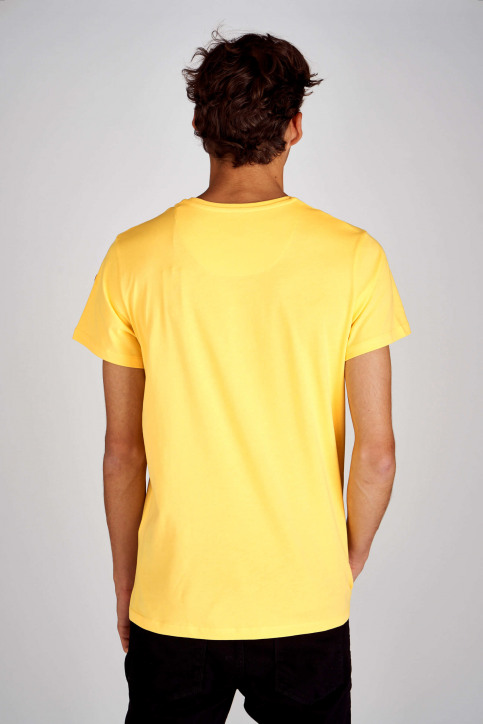 Cyclo Club Marcel T-shirts (korte mouwen) geel CCM192MT 006_BRIGHT YELLOW img4