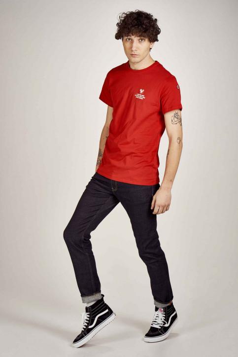 Cyclo Club Marcel T-shirts (korte mouwen) rood CCM201MT 011_RED img2