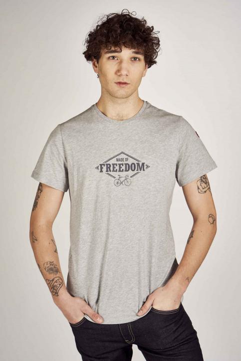 Cyclo Club Marcel T-shirts (korte mouwen) grijs CCM201MT 017_GREY img1