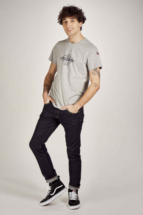 Cyclo Club Marcel T-shirts (korte mouwen) grijs CCM201MT 017_GREY img2