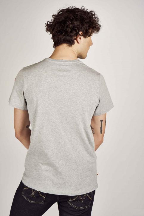 Cyclo Club Marcel T-shirts (korte mouwen) grijs CCM201MT 017_GREY img3