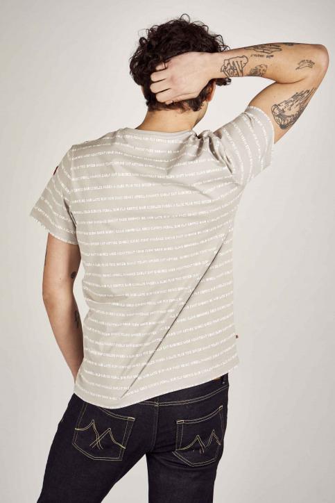 Cyclo Club Marcel T-shirts (korte mouwen) grijs CCM201MT 031_GREY img3
