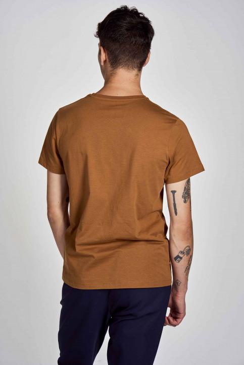 Cyclo Club Marcel T-shirts (korte mouwen) bruin CCM202MT 002_RUBBER img3