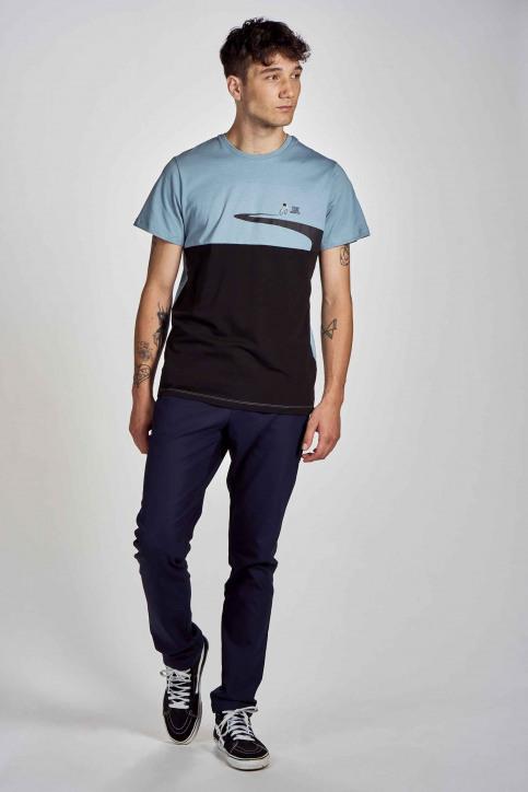 Cyclo Club Marcel T-shirts (korte mouwen) blauw CCM202MT 003_CITADELLE img2