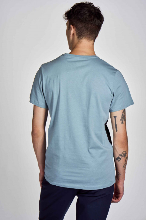 Cyclo Club Marcel T-shirts (korte mouwen) blauw CCM202MT 003_CITADELLE img3