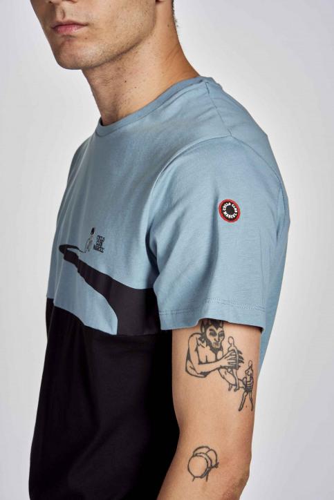 Cyclo Club Marcel T-shirts (korte mouwen) blauw CCM202MT 003_CITADELLE img4