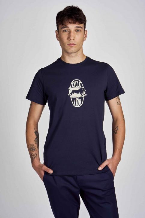 Cyclo Club Marcel T-shirts (korte mouwen) blauw CCM202MT 004_NAVY BLAZER img1