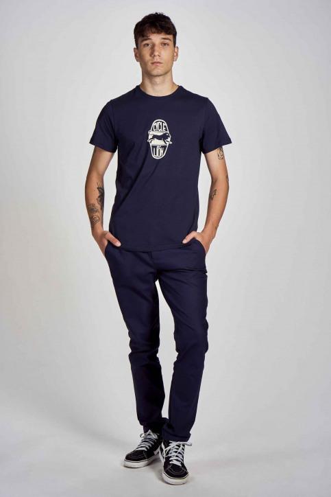Cyclo Club Marcel T-shirts (korte mouwen) blauw CCM202MT 004_NAVY BLAZER img2