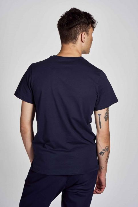 Cyclo Club Marcel T-shirts (korte mouwen) blauw CCM202MT 004_NAVY BLAZER img3