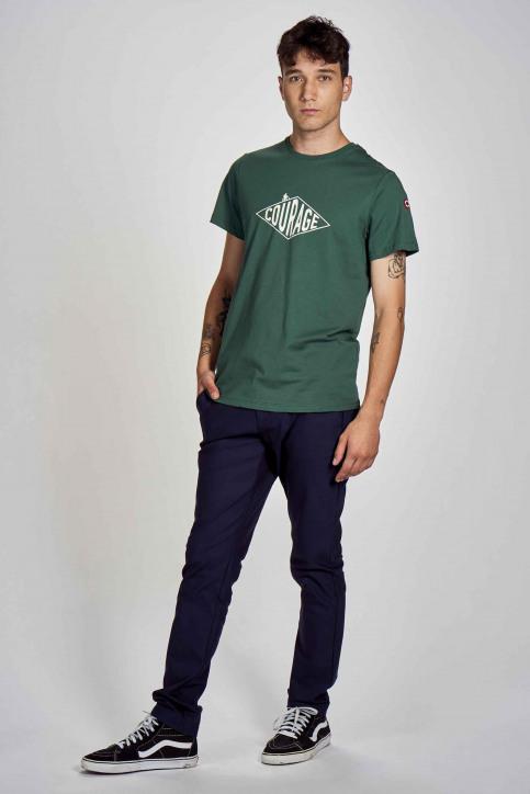Cyclo Club Marcel T-shirts (korte mouwen) groen CCM202MT 005_POSY GREEN img2