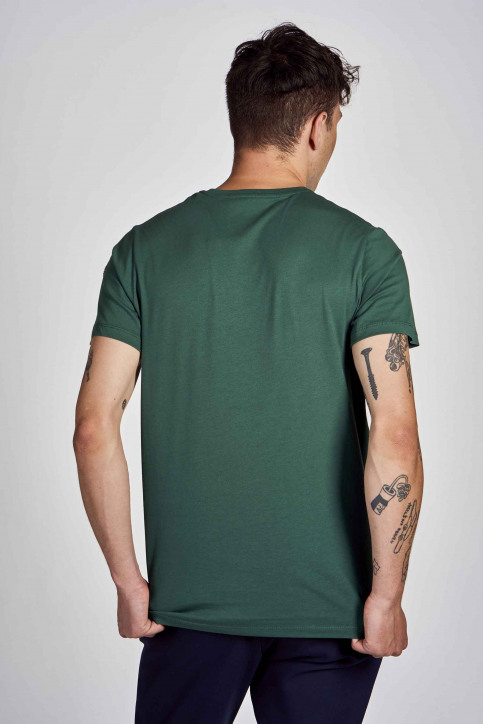 Cyclo Club Marcel T-shirts (korte mouwen) groen CCM202MT 005_POSY GREEN img3