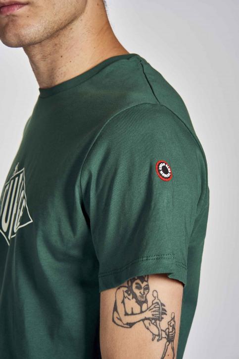 Cyclo Club Marcel T-shirts (korte mouwen) groen CCM202MT 005_POSY GREEN img4