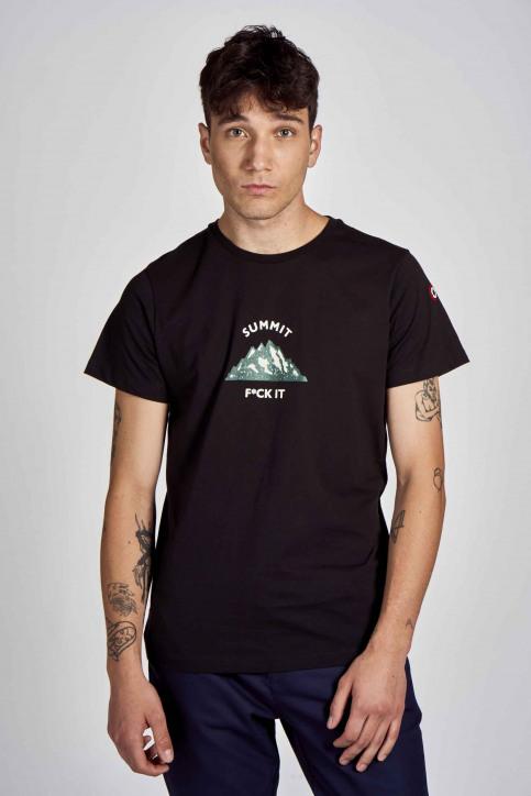 Cyclo Club Marcel T-shirts (korte mouwen) zwart CCM202MT 006_BLACK img1