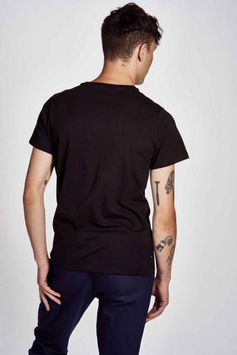 Cyclo Club Marcel T-shirts (korte mouwen) zwart CCM202MT 006_BLACK img3