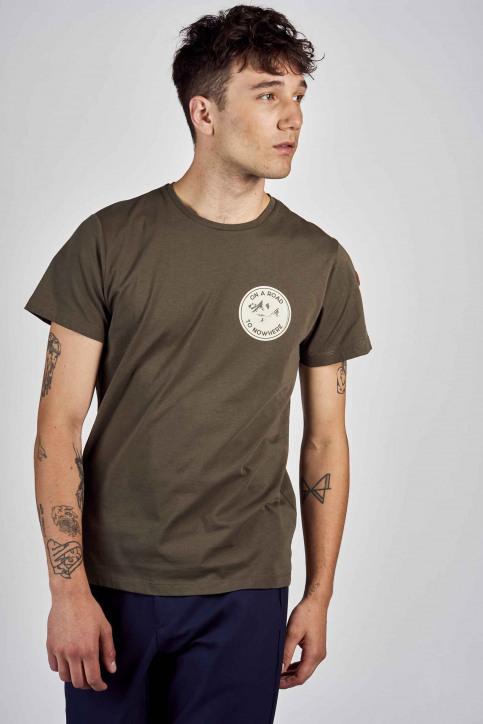 Cyclo Club Marcel T-shirts (korte mouwen) groen CCM202MT 008_KHAKI GREEN img1
