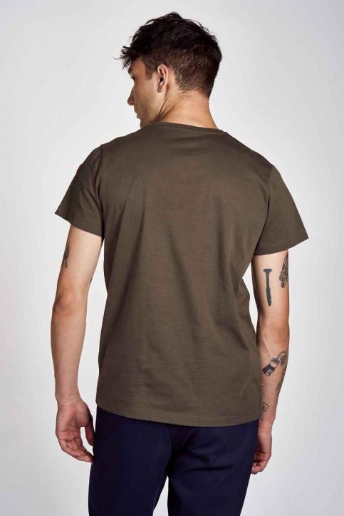 Cyclo Club Marcel T-shirts (korte mouwen) groen CCM202MT 008_KHAKI GREEN img3