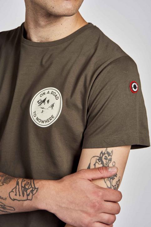 Cyclo Club Marcel T-shirts (korte mouwen) groen CCM202MT 008_KHAKI GREEN img4