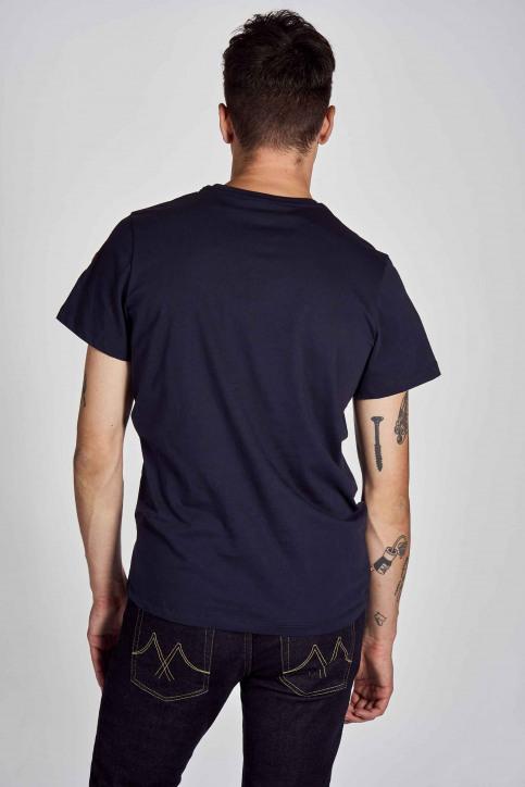 Cyclo Club Marcel T-shirts (korte mouwen) blauw CCM202MT 009_NAVY BLAZER img3