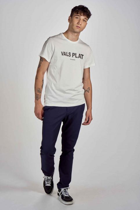 Cyclo Club Marcel T-shirts (korte mouwen) wit CCM202MT 010_VANILLA img2