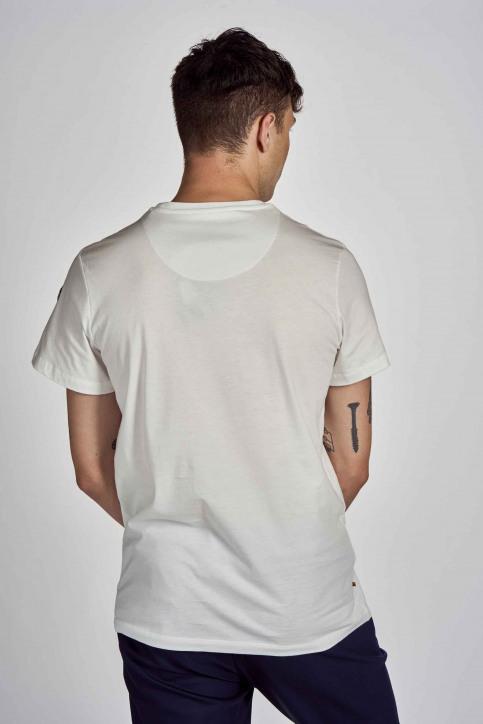 Cyclo Club Marcel T-shirts (korte mouwen) wit CCM202MT 010_VANILLA img3
