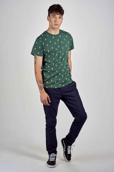 Cyclo Club Marcel T-shirts (korte mouwen) groen CCM202MT 013_POSY GREEN img2