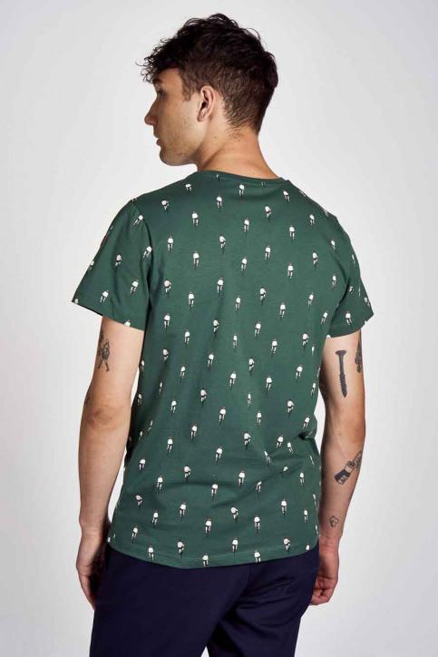 Cyclo Club Marcel T-shirts (korte mouwen) groen CCM202MT 013_POSY GREEN img3