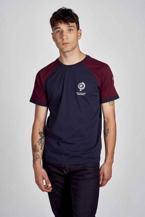 Cyclo Club Marcel T-shirts (korte mouwen) blauw CCM202MT 014_NAVY BLAZER img1