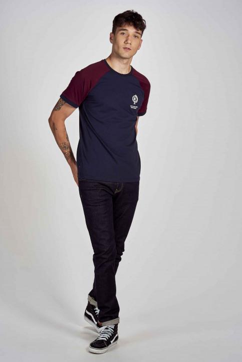Cyclo Club Marcel T-shirts (korte mouwen) blauw CCM202MT 014_NAVY BLAZER img2