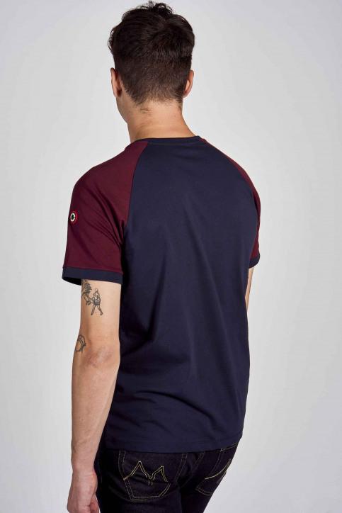 Cyclo Club Marcel T-shirts (korte mouwen) blauw CCM202MT 014_NAVY BLAZER img3
