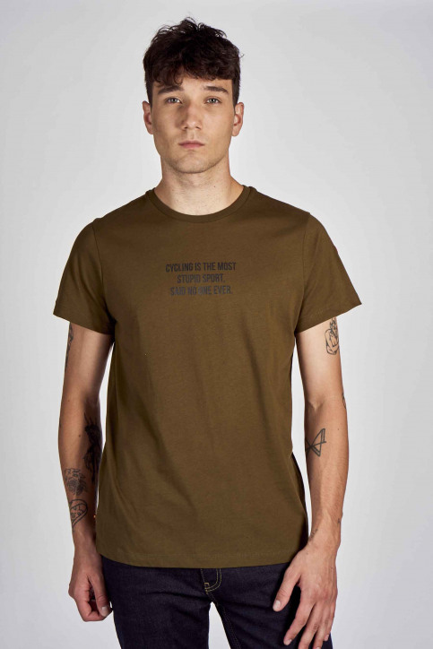 Cyclo Club Marcel T-shirts (korte mouwen) groen CCM202MT 018_KHAKI GREEN img1