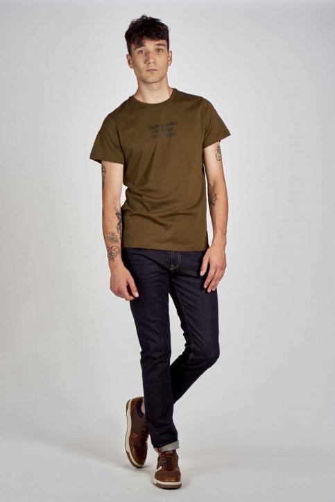 Cyclo Club Marcel T-shirts (korte mouwen) groen CCM202MT 018_KHAKI GREEN img2