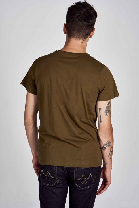 Cyclo Club Marcel T-shirts (korte mouwen) groen CCM202MT 018_KHAKI GREEN img3