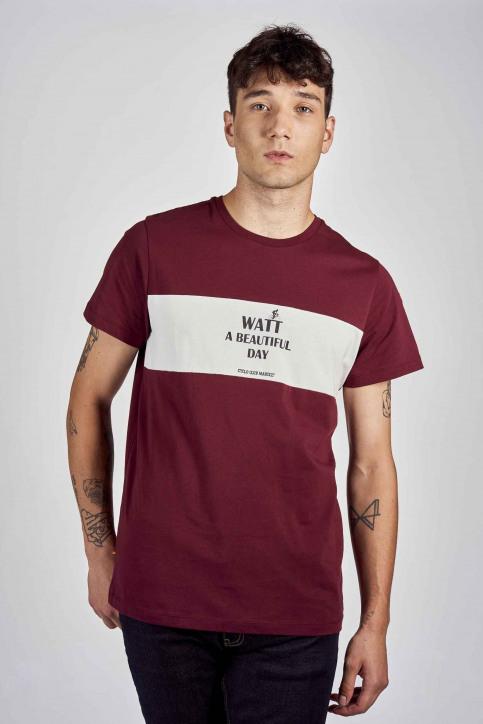 Cyclo Club Marcel T-shirts (korte mouwen) bordeaux CCM202MT 019_BORDEAUX img1