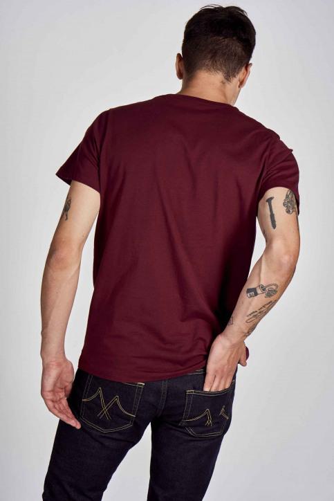 Cyclo Club Marcel T-shirts (korte mouwen) bordeaux CCM202MT 019_BORDEAUX img3