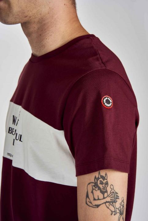 Cyclo Club Marcel T-shirts (korte mouwen) bordeaux CCM202MT 019_BORDEAUX img4