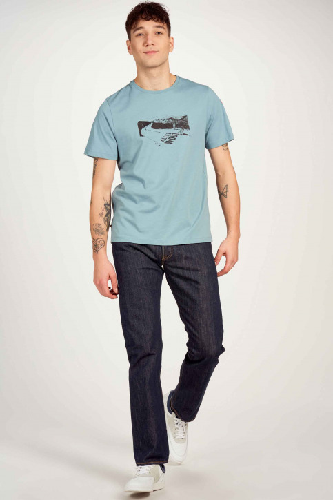 Cyclo Club Marcel T-shirts (korte mouwen) blauw CCM211MT 001_CITADELLE img1
