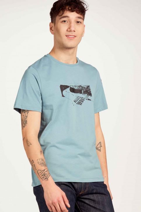 Cyclo Club Marcel T-shirts (korte mouwen) blauw CCM211MT 001_CITADELLE img2