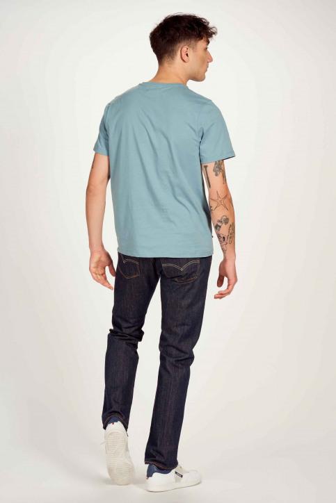 Cyclo Club Marcel T-shirts (korte mouwen) blauw CCM211MT 001_CITADELLE img3