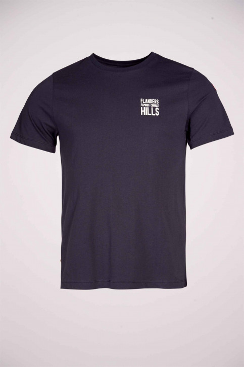 Cyclo Club Marcel T-shirts (korte mouwen) blauw CCM211MT 003_NAVY BLAZER img5