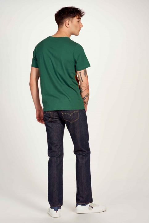 Cyclo Club Marcel T-shirts (korte mouwen) groen CCM211MT 004_POSY GREEN img3
