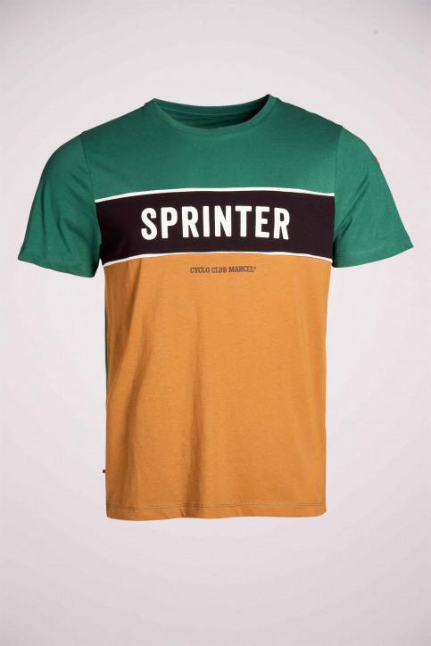 Cyclo Club Marcel T-shirts (korte mouwen) groen CCM211MT 004_POSY GREEN img4