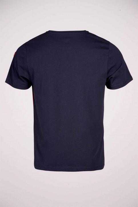 Cyclo Club Marcel T-shirts (korte mouwen) blauw CCM211MT 007_NAVY BLAZER img5
