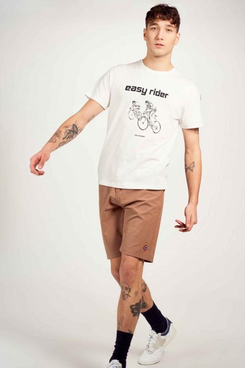 Cyclo Club Marcel T-shirts (korte mouwen) wit CCM211MT 010_VANILLA img1