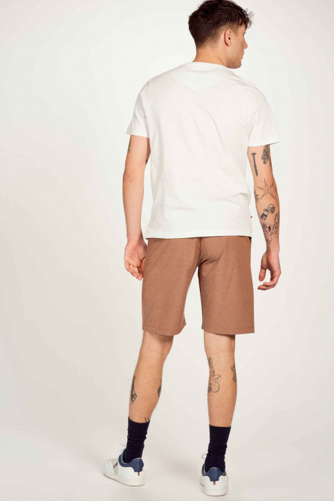 Cyclo Club Marcel T-shirts (korte mouwen) wit CCM211MT 010_VANILLA img3